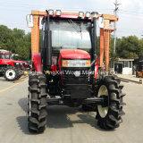 Tracteurs 4X4 avec chargeurs frontal et rétrocaveuse