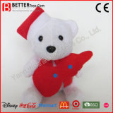 Urso de relvado para o dia de Natal