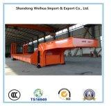 La Chine 30t à 2 essieux Lowboy Lowbed semi-remorque fabricant en Chine