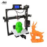 2017 più nuova stampante veloce di alta precisione 3D di Prototyping di DIY per Shool e famiglia