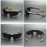 Lunettes de soleil protectrices UV de sports en verre de verres de sûreté (SG115)