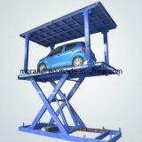 Unsichtbarer Tiefbauauto-Doppelt-Plattform-Aufzug