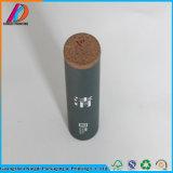 Long tube de carton lustré mat pour l'empaquetage cosmétique