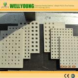 Panel de insonorización decorativos placa yeso perforados