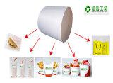 Einzelnes PET überzogenes Papier für heißes trinkendes Cup, Nudel-Filterglocke, Icecraem Filterglocke, Salat-Filterglocke