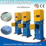 Máquina de la prensa de la compresa de la basura del vaso del hospital/prensa hidráulica de los desperdicios