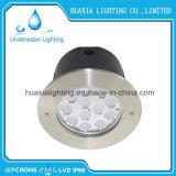 iluminación ligera subacuática ahuecada 27watt de la piscina del LED