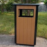 Caixote do lixo de jardim com madeira de plástico para venda Quente (HW-36)