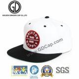 gorra de béisbol plana del sombrero del Snapback de la era del borde de la nueva manera 100%Acrylic