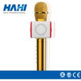 Microfono portatile di Bluetooth del microfono senza fili tenuto in mano mobile del microfono di Condensador mini con l'altoparlante per il iPhone Android