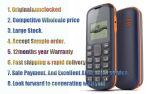"""Nekia initial 103 1.36 """" téléphones mobiles de GM/M"""