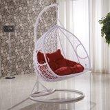 現代余暇のホームホテルのオフィスの金属の柳細工の円形の藤のハングの椅子(J828)