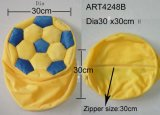 Chair Cover Football in Yellow and Blue