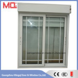 Usine coulissante de guichet en aluminium de double vitrage de Guangzhou