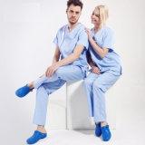의학 공장 제복을%s 100%년 면 병원 가운은 제거한다