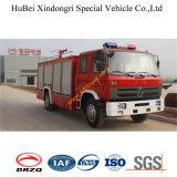 vrachtwagen Euro3 van de Brand van het Schuim van het Water van 6tons Dongfeng Tianjin de Facultatieve