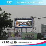 HD P8 3535 SMD LED de exterior para publicidade, Tela de LED de exterior