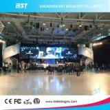 P5 LED haute définition de la location d'écran mural, affichage LED couleur numérique de l'Énergie de l'enregistrement