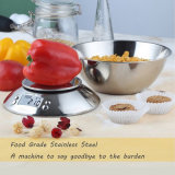 Classic Stainless Steel LCD Platform 5kg Digital Kitchen Bowl Scale