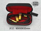 Trasduttore auricolare classico del metallo della fabbrica di Shenzhen, trasduttore auricolare collegato, supporto del trasduttore auricolare che comunicano per il iPhone e telefono astuto