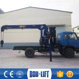 10トンの小型トラックの小さい上昇クレーン