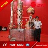 500L acero inoxidable SS304 o cobre rojo Vodka destilería en Venta