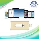 iPhoneのiPad Macのための1つのUSB3.0 Pendrive USBのフラッシュ・メモリに付き2つ