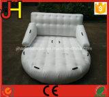 高品質販売のための耐久の白く膨脹可能な水ソファー