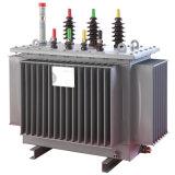 10kv livello S9-M, S10-M, trasformatore Nessun-Caricamento-Colpire-Cambiante Pieno-Sigillato a tre fasi di distribuzione 100kVA di serie di S11-M
