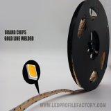Perfil/canal/protuberancia de aluminio flexibles de la luz de tira de GS2835 LED con precio competitivo