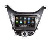 Wince 6.0 Mtk3360 Solution Amplificateur de voiture OE-Fit pour Hyundai 2012 Elantra avec Bluetooth FM Am USB DVD iPod DVB-T