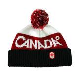 Chapéu vermelho do Beanie da impressão (JRK148)