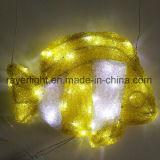 LED fischt Beleuchtung-Projekt-im Freiendekoration des Ozean-Park-LED