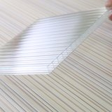 Hoja hueco de alto impacto del policarbonato de cuatro paredes para la azotea de la sombrilla