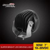 Low-Profile предельный свет 7inch 90W 4X4 СИД управляя