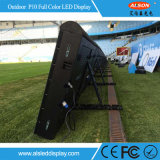 P10 Football Stadium Perimeter LED Banner Display