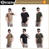 2015 Esdy Cool тактических футболка быстрой сушки коротких гильзы тройник куртка Windrunner
