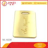 Design personalizado rótulos e etiquetas de metal para decoração