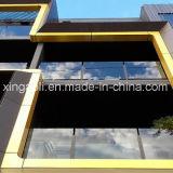 Los paneles compuestos de aluminio no combustibles