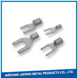 Feuille de métal en alliage aluminium OEM de la Fabrication de flexion et de l'Estampage Shrapnel électronique