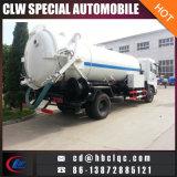 Do esgoto de nivelamento do caminhão da água de esgoto das vendas 9000L da fábrica petroleiro de dragagem e de limpeza