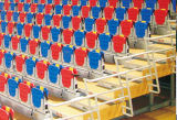 Sièges de blanchisseur télescopiques à l'intérieur pour gymnase, stade