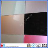 3mm-8mm Retour Painted Verre / blanc peint Verre / Verre peint avec Rouge, Bleu, Vert, Noir Couleur