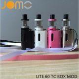 In het groot LEIDENE Vertoning Vape Mods Mini e-Cig Jomotech Lite 60 Mod. van de Doos
