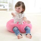 원형 유아 앉는 의자 아기 베개를 보호하십시오