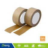 Personalizado de la cinta auto-adhesivo del papel de Kraft de lacre del cartón