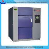Câmara quente e fria do equipamento de laboratório da temperatura do impato de choque térmico do teste