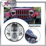 Bevorderend Koplampen op Jeep de 7 LEIDENE van de Duim Koplampen van de Jeep