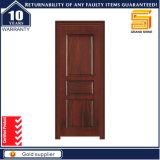 Painel de madeira maciça exterior de madeira interior de porta única