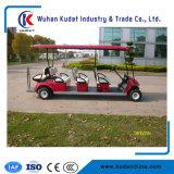 8 sièges 48V 4kw Chariot de golf